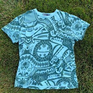Polo Ralph Lauren Tribal Pattern T-Shirt